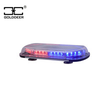 Hot Sell Linear 32W Emergency Car Mini Light Bar with Magnetic Mounting(TBD0696-8-4L)