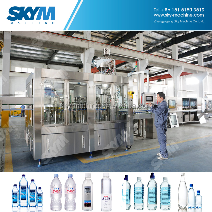 PET Bottle Water Production Manufacturers