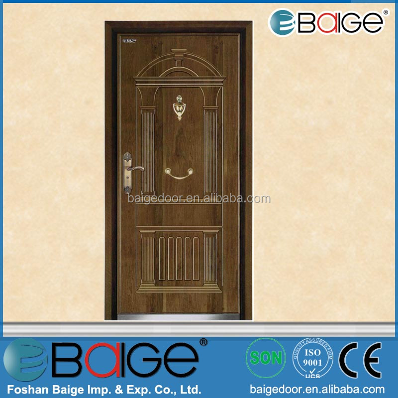 BG-AF9041 steel french armored security door exterior