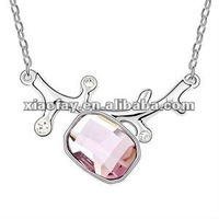 (072633) Crystal women hot sex images,charm necklace