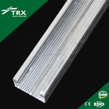 CD TC DC U V I SHAPPED PERFORATED light gauge METAL galvanized steel FURRING CHANNEL PROFILE Stud TRACK CORNER BEAD WALL ANGLE
