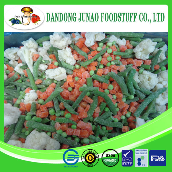 New season wholesale frozen mixed vegetables