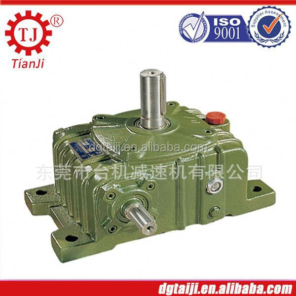 helical gear driven speed reducer