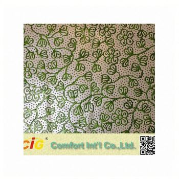 New Embossed Design pvc saffiano leather Made in China