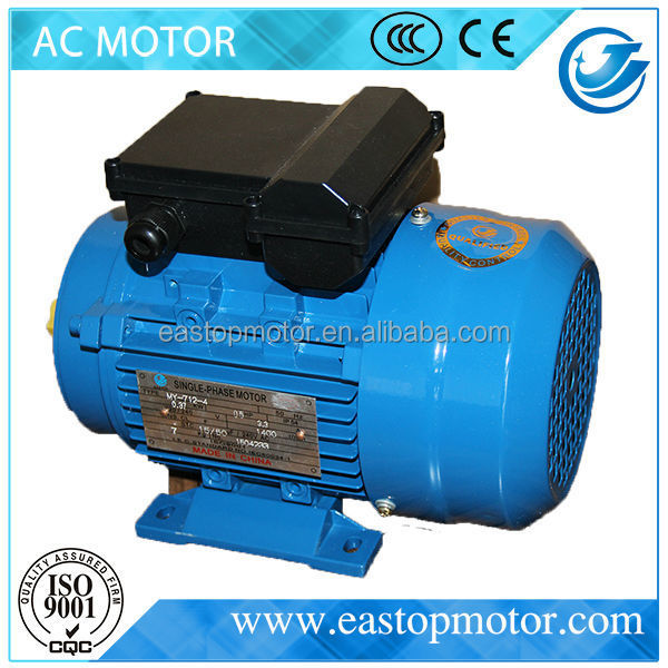 CE Approved ML flange type electric motor for machine tools with silicon-steel-sheet stator