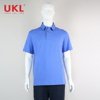 Casual Bright Color Double Straight Quotes Pattern Men Polo Shirt