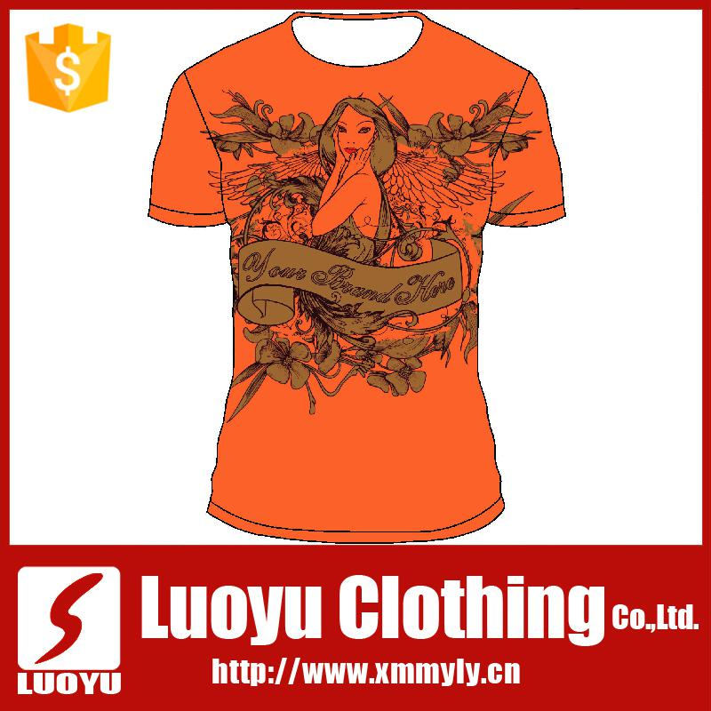 Best quality full sublimation printing latest t shirt for Best quality shirts to print on