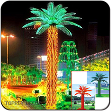 Christmas manufacturer led palm tree trunks