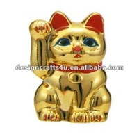 Ceramic Golden Fortune Cat