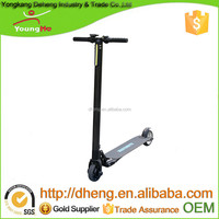 10.4Ah battery Folding electric scooter with 300W, the max speed is 25KM