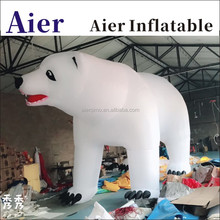 inflatable polar bear for event decoration advertising
