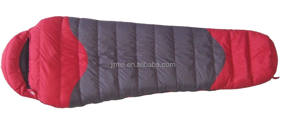 outdoor mummy down minion heated sleeping bag