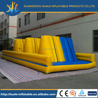 Hit and run adult bounce house of balance inflatable obstacle made in China inflatable manufacturer