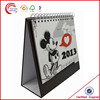 Cardboard desk calendar with stand wholesale in shanghai