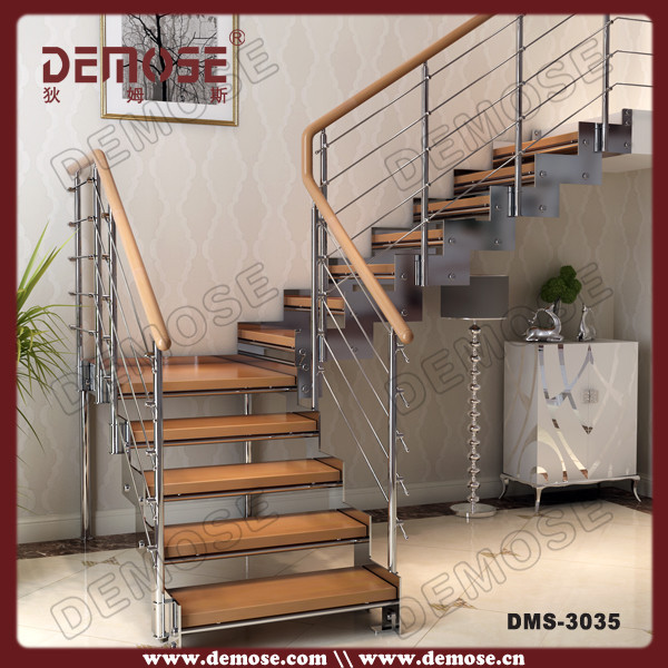 Superior Chinese Factory Used Metal Stairs With Wood Treads   Buy Used Metal Stairs, Stairs Grill Design,Oak Timber Price Product On Alibaba.com