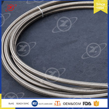 HY-003 wholesale extruded ss PTFE air brake stainless steel hose assembly