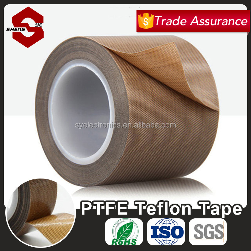 Good Adhesive Teflon Tape For Electrical Wires In 0.18mm Thickness