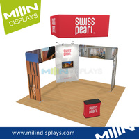 Trade show portable display stand exhibition booth partition walls