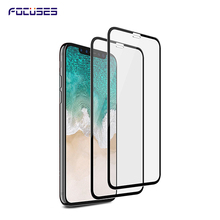 Wholesale Alibaba Full Cover 2.5D Tempered Glass Screen Protector for iPhone X / 10 ,for iphone 10 / X 2.5D 9H tempered