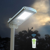 Outdoor Garden 10W Led Solar Yard Lamp Post Lighting