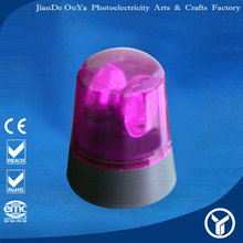 China supplier 4820 purple battery siren lamp