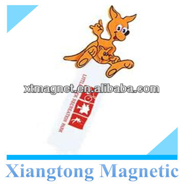 Creative Kangaroo Shape Design Folding Magnetic Bookmark with Custom Logo