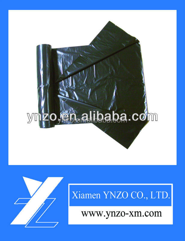colored hot sale plastic garbage bag