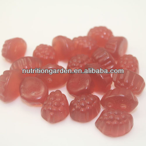 Vegetarian pectin sleep well gummy (support natural sleep, helps jet lag recovery) for adult