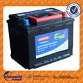 Maintenance Free DIN62 12V62AH car battery