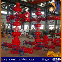 API 6A wellhead equipment and christmas tree for oil drilling