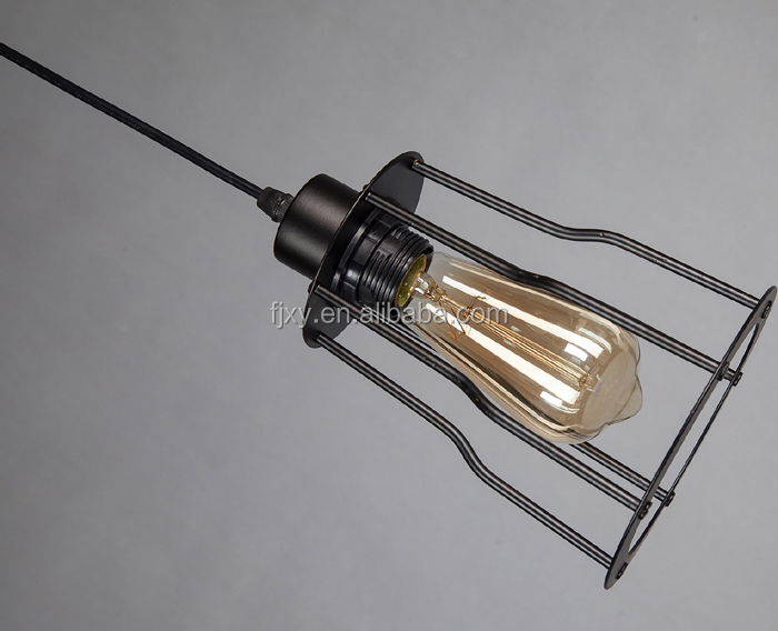 vintage industrial antique design indoor decorative hanging lamp for home lighting