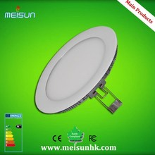 Hot sale 24w Round Square ultra thin led panel light with CE& RoHS