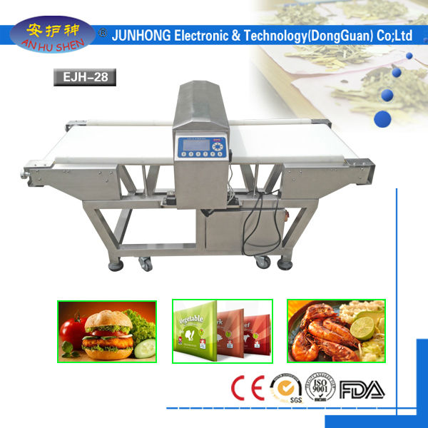 High Technology food powder metal detector in Japan