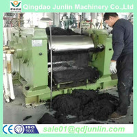 two roll type rubber refiner mill