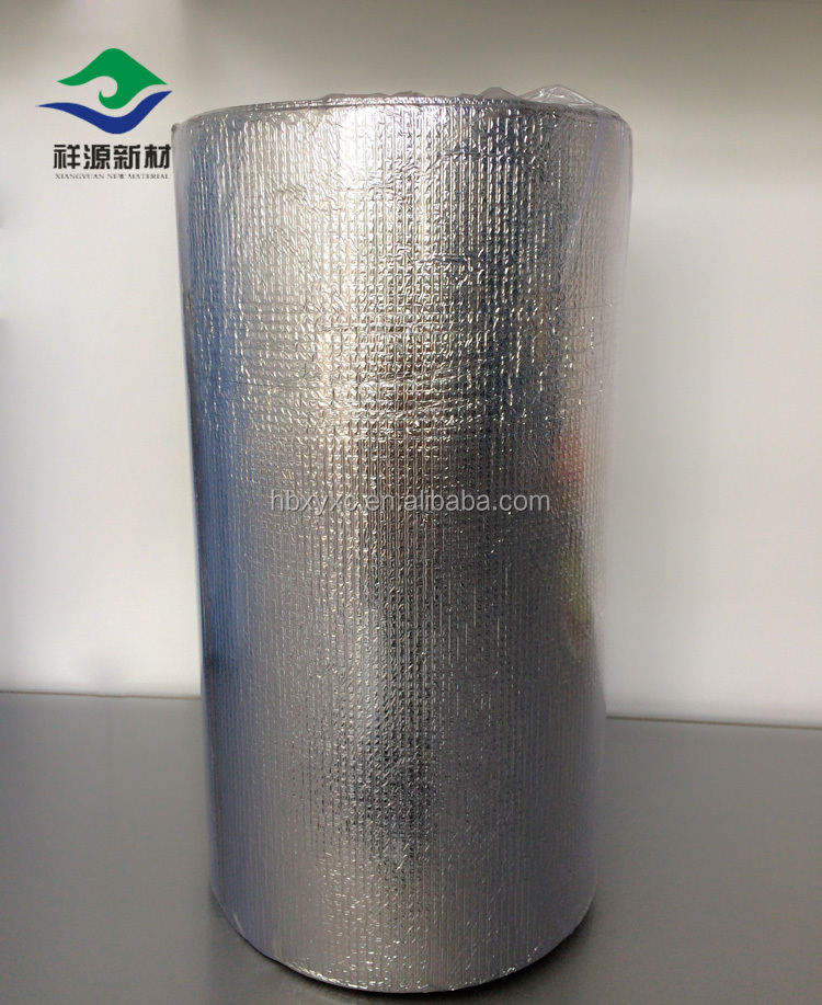 Heat reflective thermal insulation IXPE/XLPE Cross-linked PE Foam for roofing,tube insulation,wall paper