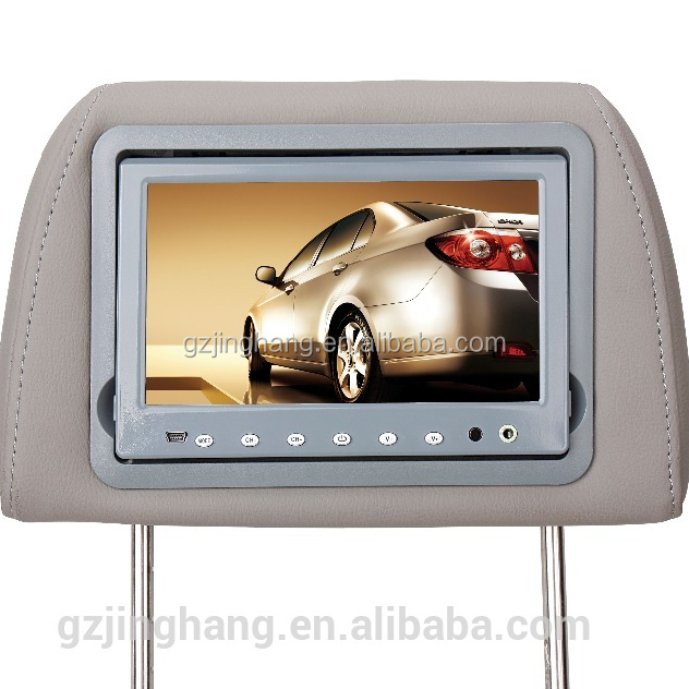Headrest pillow Monitor 7 Inch Car TV Monitor with USB with capacitive touch screen