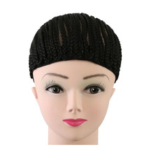Wholesale Cornrows Cap wig For Easier Making Wig Less Stress On Your Natural Hair Braided Wig Cap Net For Black Women