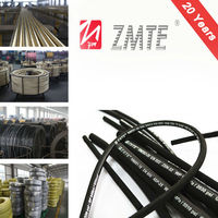 High Pressure/flexible reinforced rubber 2SN Industrial Hose and Hose Assembly