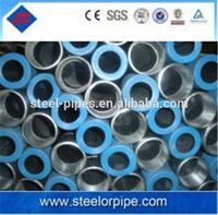 Alibaba website BS1387 galvanized coated carbon seamless steel pipe gi steel tube