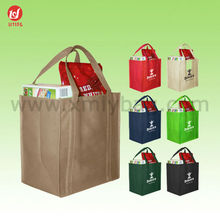 Lady Grocery Non Woven Shopping Tote Bag