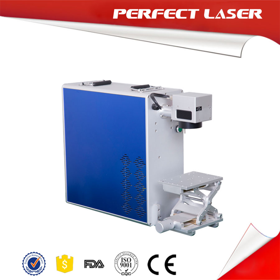 Scrap Tyre Steel Wire Laser Marking Machine Fiber Laser Marker