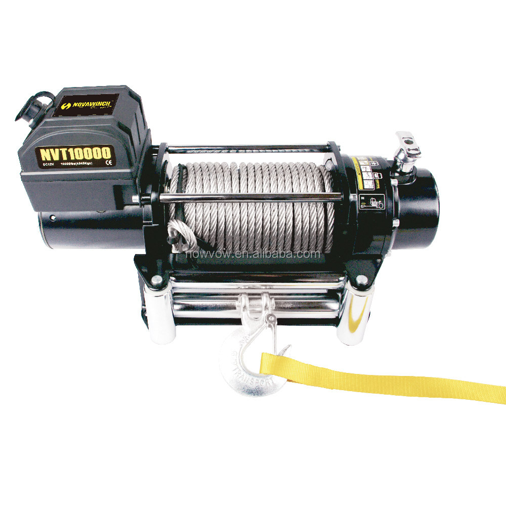 12v electric strap winch