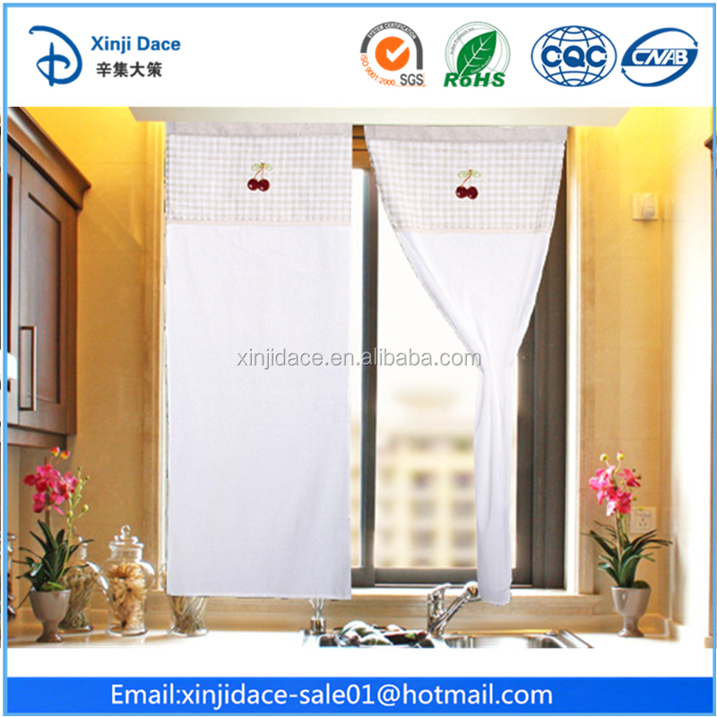 Best quality living room curtain modern type of fringe curtain