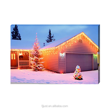 LED painting wall art canvas oil painting for home decoration