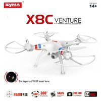 2015 New Syma X5C Update Version X8C 2.4G 6-Axis RC Flight Simulator with 2MP Wide Angle Camera RTF VS DJI Phantom 2 & 3