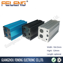 aluminum casing box electronic extruded hardware enclosure