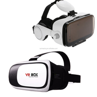 3D VR Headset, 3D VR Glasses, Virtual Reality Headset Built-in Headphones and Adjustable Strap for IOS & Android Smartphones