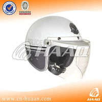 Strong PC Spring and Autumn Anti-fog motorcycle police safety helmet