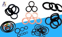 various materials gaskets Material and Various types gaskets Shape silicone rubber gasket