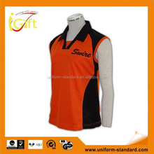 Hot sale high quality ribbed collar cheap custom branded office polo jacket uniform